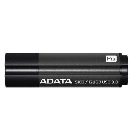 Adata Superior Series S102 Pro USB Stick 3.0 - Auswahl: 128GB Grau