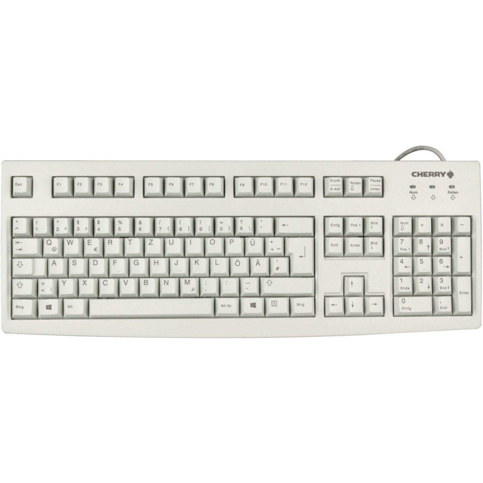 CHERRY Tastatur - Modell: Cherry Business Line G83-6105 Beige