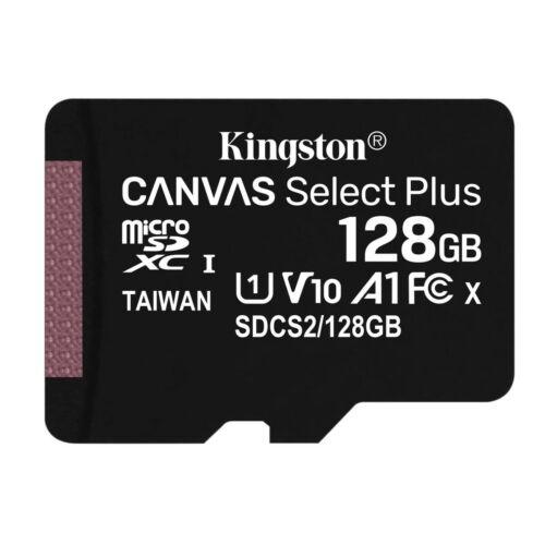 Kingston Canvas Select Plus MicroSD - Speichergröße: 128GB Class 10