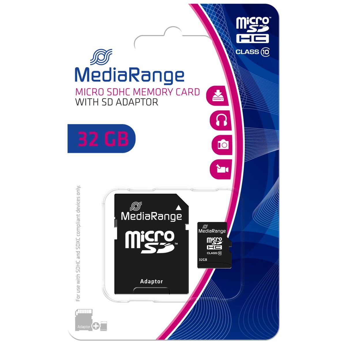 32 GB microSDHC, Speicherkarte