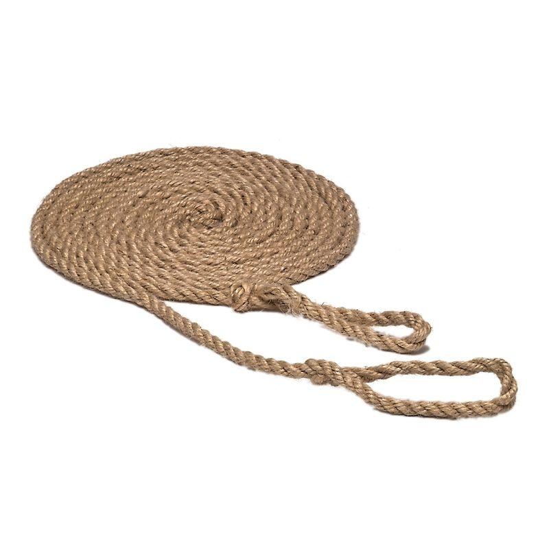 Glückskäfer schaukelseil mit Schlaufen 5 m blankes Seil