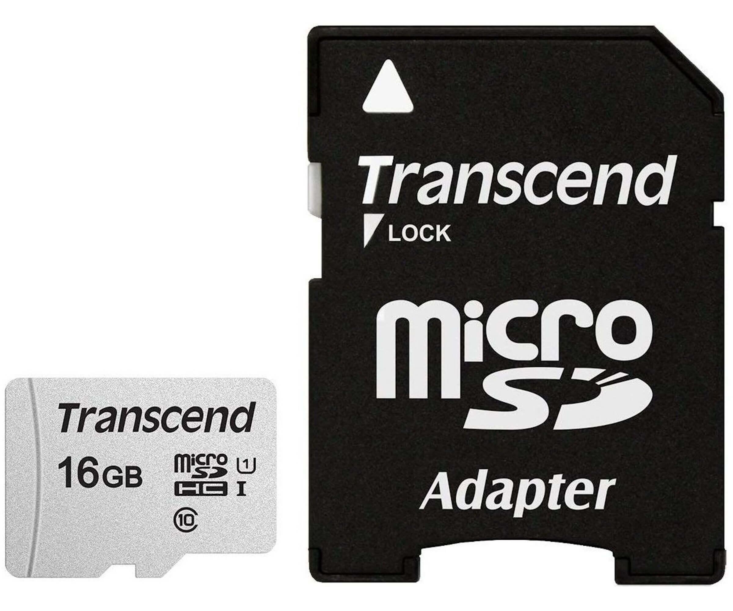 300S 16 GB microSDHC, Speicherkarte