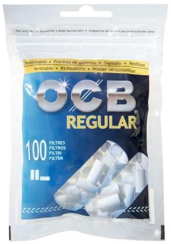 OCB Slim Filter Ø=6mm L= 15mm 100 im beutel