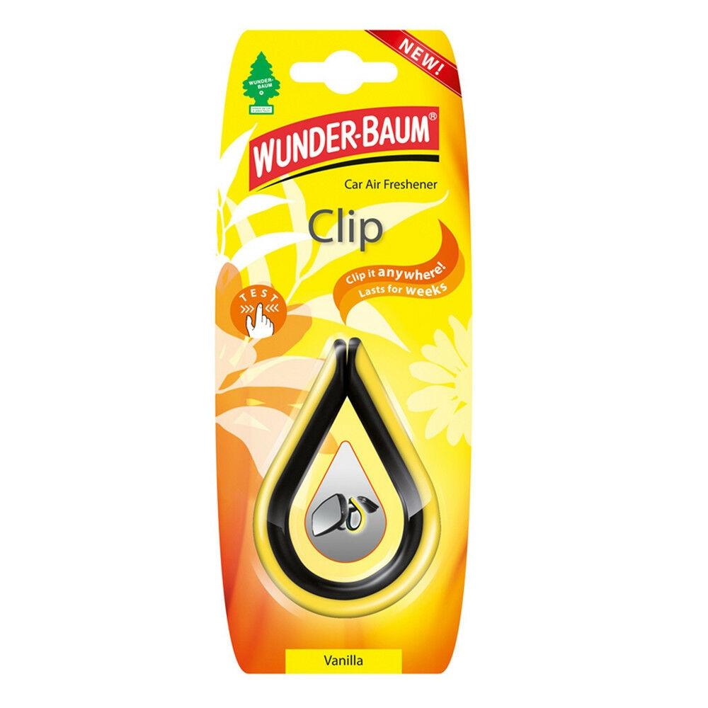 Wunderbaum Lufterfrischer Clip - Duft: Vanilla