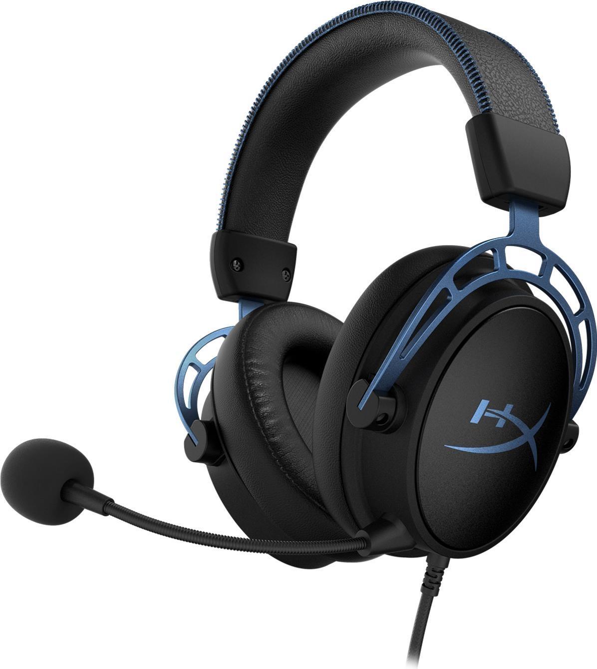 HyperX Cloud Alpha S Gaming Headset Kabelgebunden Kopfbügelhörer Schwarz