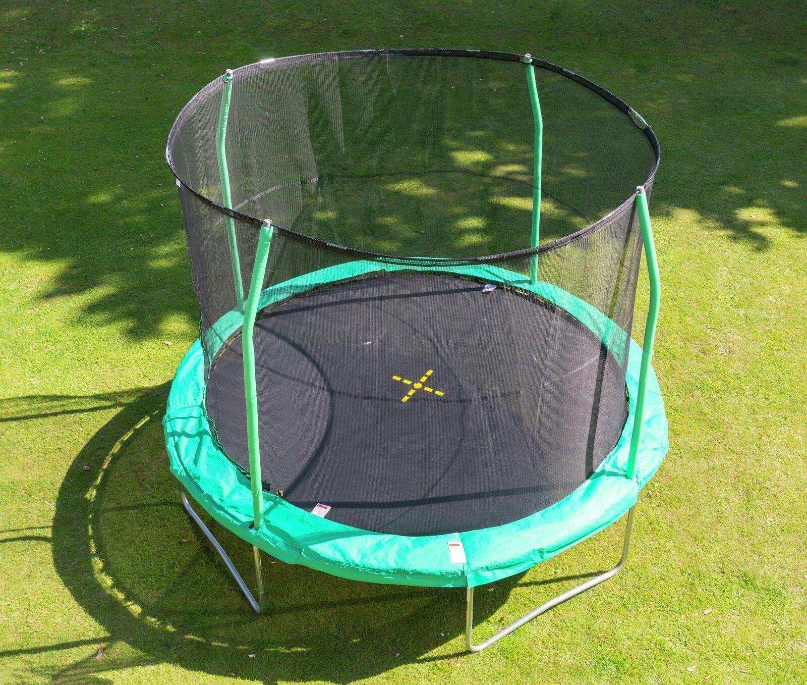 Jumpking trampolin Combo366 cm grün
