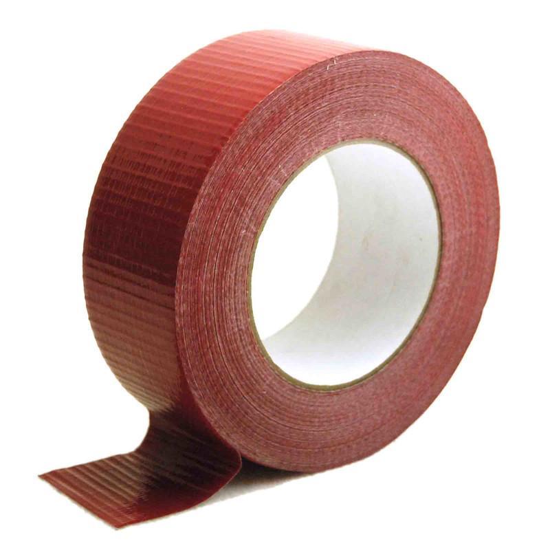 Gewebeband, 48,5mm x 50m Rot