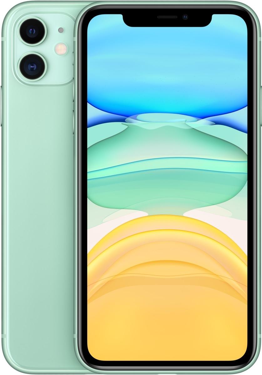 Apple iPhone 11 256 GB Grün MWMD2ZD/A