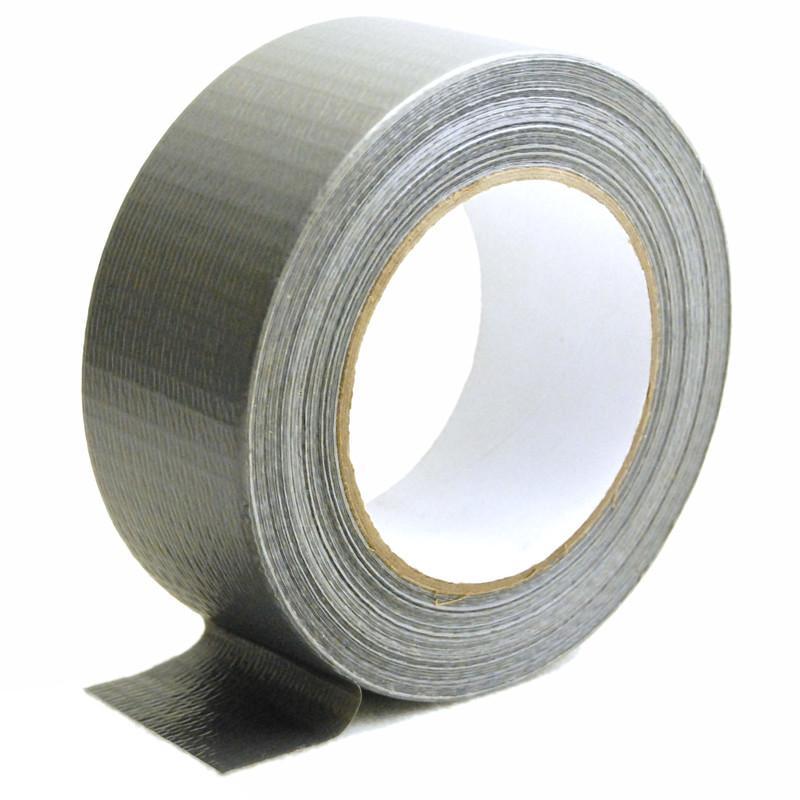 Gewebeband, 48,5mm x 50m Silber