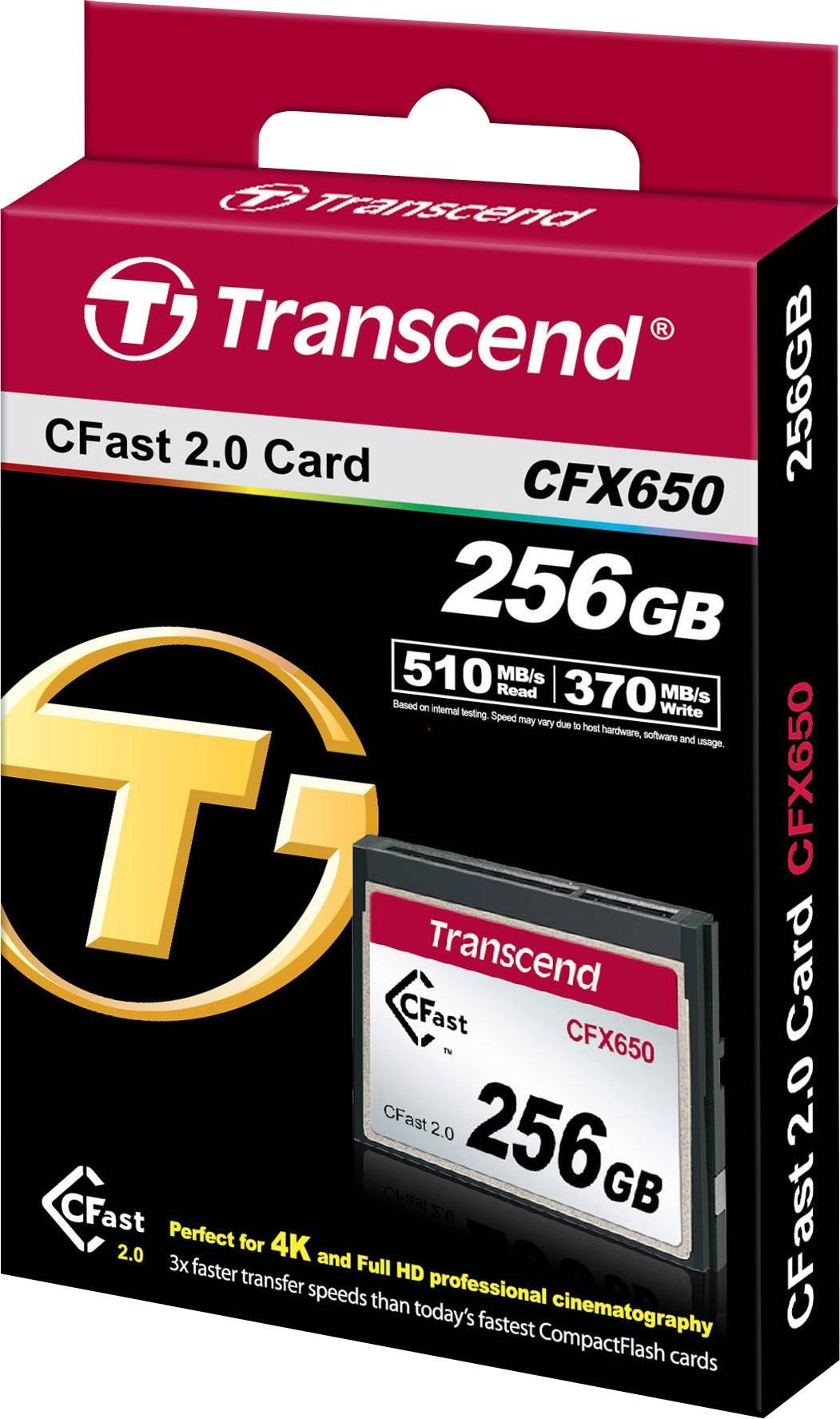 256GB CFX650-Karte, Speicherkarte