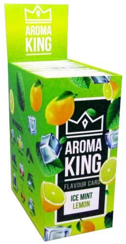 AROMA KING MINT LEMON Flavouring Cartridge Aroma Card im 25er T-Box