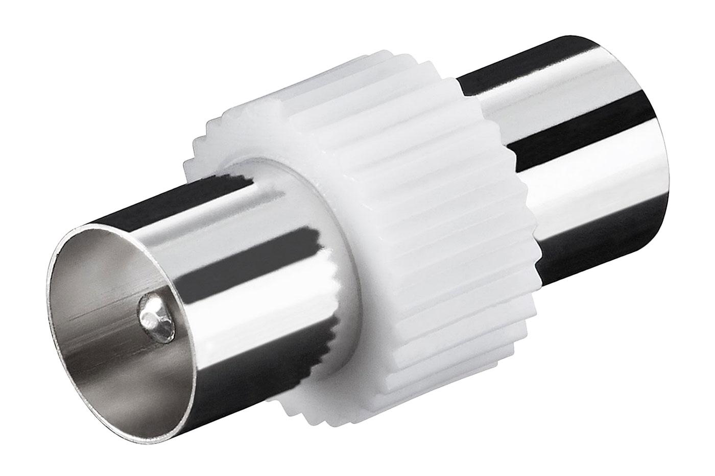 Adapter Koaxial-Stecker auf Koaxial-Stecker