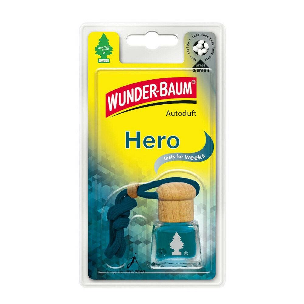 Wunderbaum Lufterfrischer Flakon - Duft: Hero