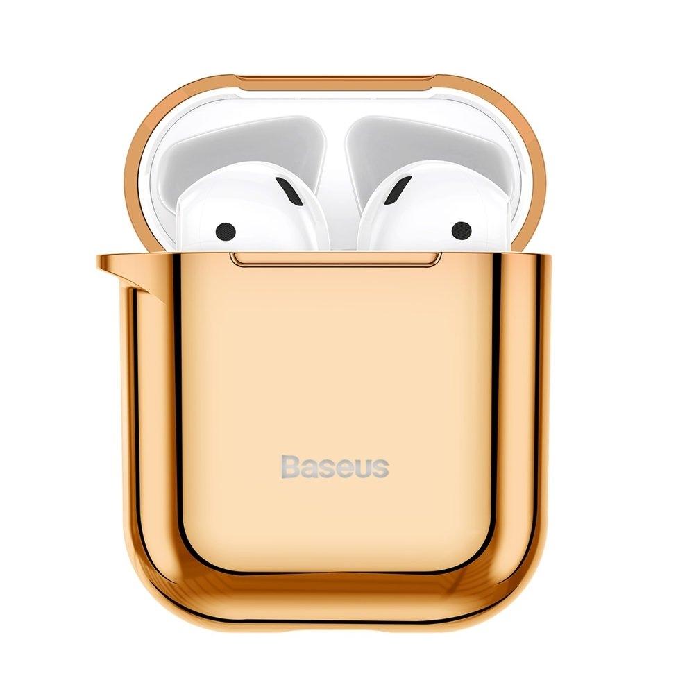 Baseus AirPods Silikon Schutztasche für Kopfhörer 2gen / 1gen gold